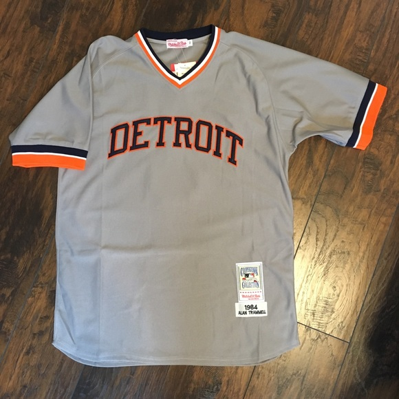 huge discount 6818f d23f8 Detroit Tigers Mitchell & Ness Jersey NWT